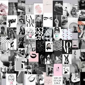Pin By Wendyp On Wallpapers Digital Wall Art Wall Collage Bedroom Wall Collage