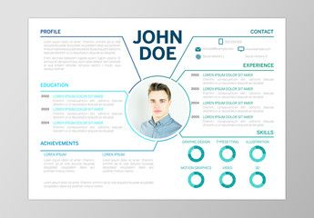 Resume Layout With Blue Accents And Section Markers Ad Blue Layout Resume Markers Section Ad Mise En Page Cv Frise Chronologique Chronologie