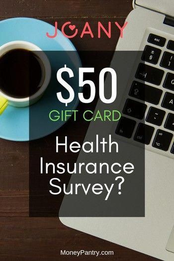 Joany Survey 1 Minute Health Insurance Review That Pays You 50