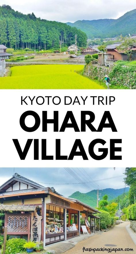 Travel Kyoto Japan. Ohara rural village as day trip from Kyoto to... - Asia destinations
