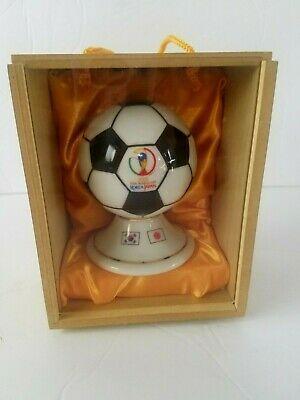 2002 Fifa World Cup Korea Japan Miniature Glass Ceramic Soccer Ball Ebay Japan Soccer Soccer Fans Fifa World Cup