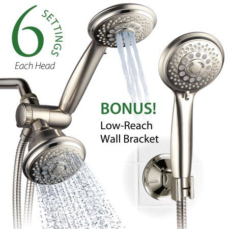 Home Improvement Shower Heads Hand Held Shower Wall Brackets