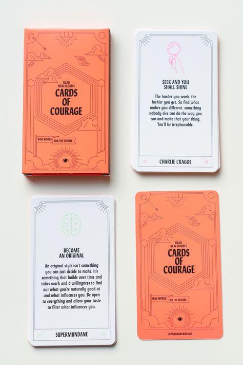 D&AD's Cards of Courage vous aident à vous lancer ! - étapes: