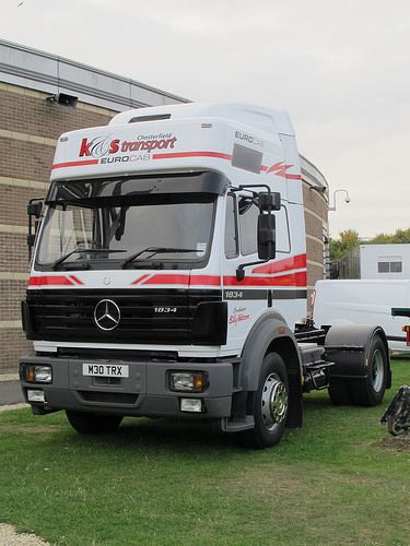 great example of mercedes truck