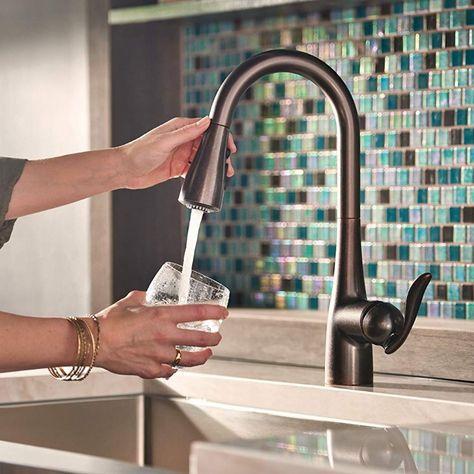 moen kitchen faucet review