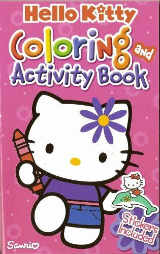 Hello Kitty Coloring Book Best Of Hello Kitty Coloring And Activity Book Pink Sanrio Hello Kitty Coloring Kitty Coloring Cat Coloring Book