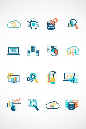 Financial Data Vector Icon Png Images Ai Free Download Pikbest Graphic Design Portfolio Print Data Icon Vector Icons