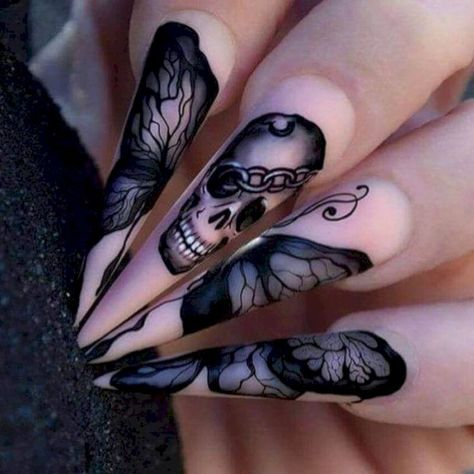Sweet, Spooky Halloween Nail Art Ideas for a Costume Party