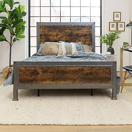 Kirkland S Bed Frame Design Industrial Bed Frame Steel Bed Design