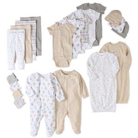 Garanimals Newborn Baby Boy Or Girl Unisex 20 Piece Layette Baby Shower Gift Set Mult Minimalist Baby Clothes Neutral Baby Clothes Gender Neutral Baby Clothes