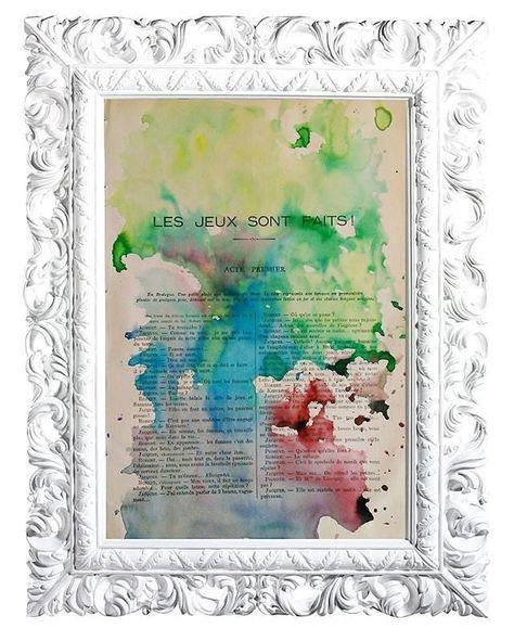 Comparte tus momentos #ruzafagente con nosotros. 🔝📷@lapetiteillustration  BEAUTIFUL COLOURS 15. Acuarela sobre página de enciclopedia francesa de la ilustración de 1930. La medida de la hoja es 28 x 19 cm.  #illustrattion #letters #creative  #ilustración #instavalencia #decoración #igersvalencia #lapetiteillustration #creatividad #watercolor #ruzafagente #desing #diseño #creativear