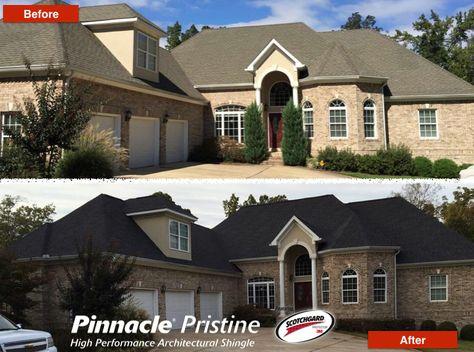 Pinnacle® Roofing Shingles Featuring Scotchgard™ Protector   Black Shadow |  Pinnacle® Roofing Shingles | Pinterest | Roofing Shingles, Black Shadow And  ...