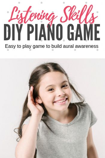 Sounds Like…. A Fun Tool For Teaching Beginning Piano Students Sound Control #TeachPianoToday #PianoGame