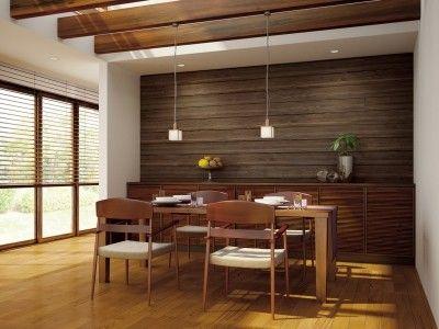 壁に木を貼るリフォーム その素晴らしい魅力と注意点 模様替え 壁