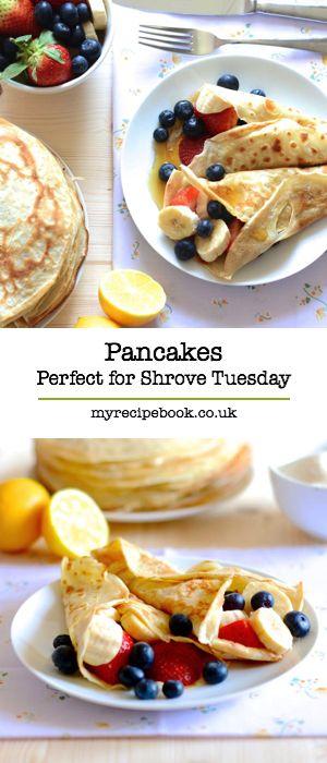 Pancakes (Perfect for Pancake Day)