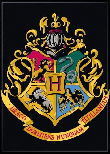 Magnet: Harry Potter - Hogwarts Crest