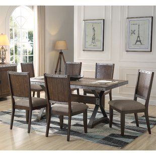 Millwood Pines Honey 5 Piece Dining Set Wayfair Dining Room Sets Contemporary Dining Room Sets Rectangular Dining Table