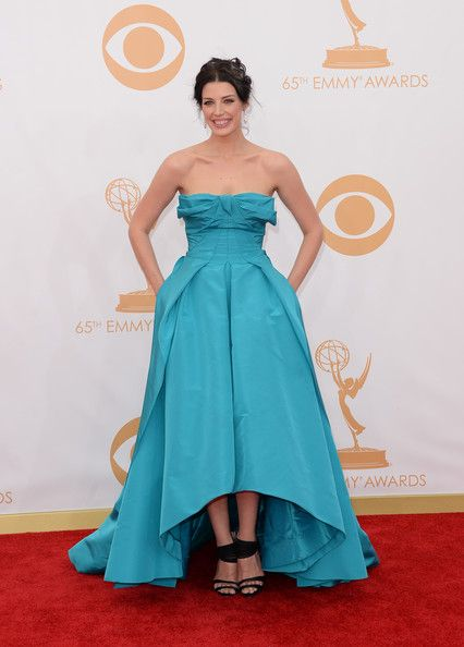 Jessica Pare 2013 - The Most Daring Emmy Dresses of All Time - Photos