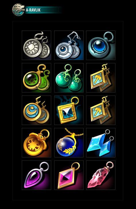 RPG Jewelry Icons 02