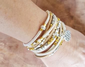 bracelet femme long