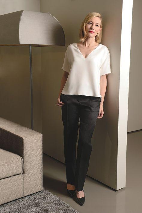 Cate Blanchett [Photo by Steve Eichner]
