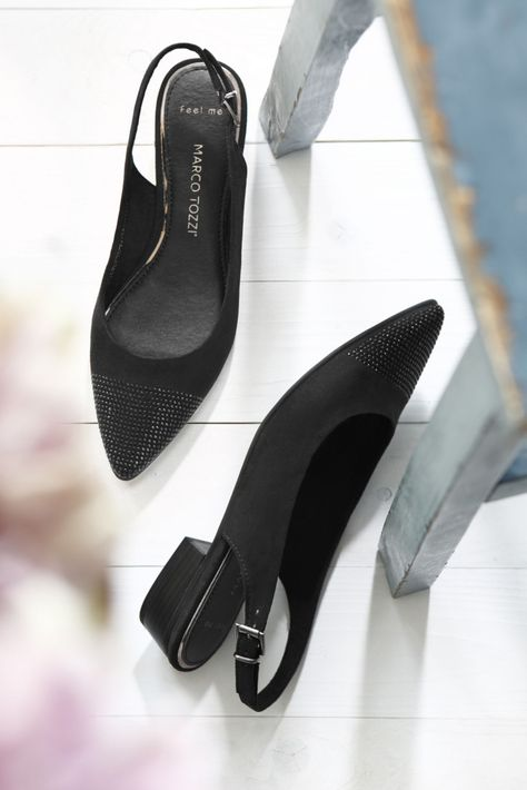 Marco Tozzi Slingpumps Entdecke trendige Sommer-Schuhe in angesagten  Trend-Farben für Frauen. Ob Ballerinas, Sandalen, Sandaletten, Slipper,  Espadrilles, ... b019a568bc