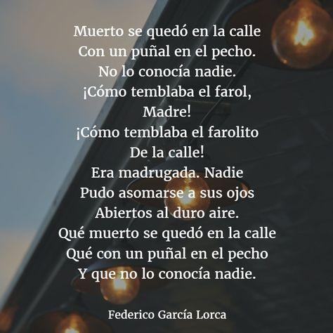Poemas De Federico Garcia Lorca 6 Garcia Lorca Poemas