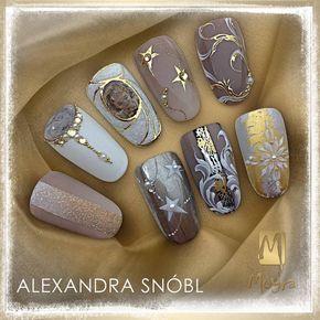 glitter Nail art ideas from Alexa....