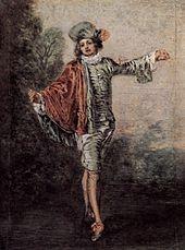Jean Antoine Watteau (1684-1721) L'indifférent 1717