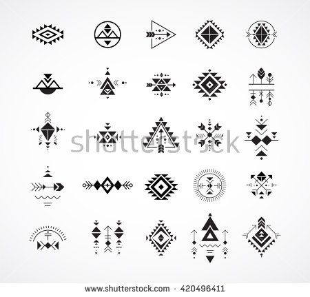 Such A Perfect Template For Tattoo Im Love Of Geometrics Rasspink Hipster