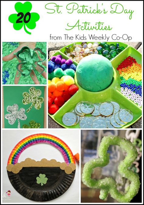20 St. Patrick's Day Activities for Kids from The Kids Weekly Co-Op