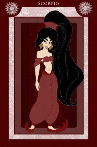 Princess Zodiacs - Scorpio