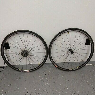 Sponsored Ebay Mavic Cosmos Road Bike Wheelset 700c Clincher 8 10