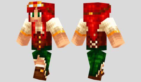 Steampunk Girl Skin para Minecraft