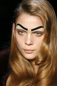 Eyebrows... This is what I felt like when I filled my eyebrows in...