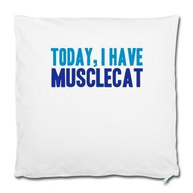 Heute Hab Ich Muskelkater Denglisch Kissenbezug 40 X 40 Cm