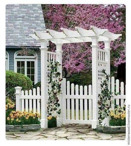 42+ ideas house entrance garden picket fences