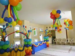 Resultado de imagen para decoracion de fiesta bajoterra