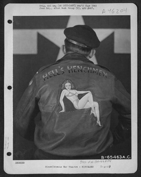 Personalized Air Force Bomber Jackets from WWII