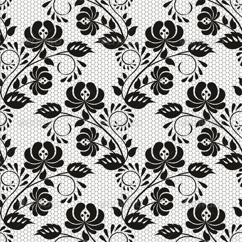 Seamless Background with Lace Floral Pattern  #GraphicRiver         Seamless background with lace floral pattern. Vector illustration, fully editable, vector objects separated and grouped. Editable EPS 10 Vector illustrations. Icluded files: .EPS, .JPEG 5000*5000 px.     Created: 18September13 GraphicsFilesIncluded: JPGImage #VectorEPS Layered: No MinimumAdobeCSVersion: CS Tags: art #backdrop #background #baroque #black #clothes #decoration #decorative #drapery #dresses #expensive #fabric #fashi