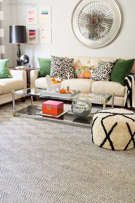 Yes, you read right, a new rug! I know I've had some huge fans of our old rug but the pattern has been bugging me for a while now. The pattern had become too much for me which became clear in my fall post. It was restricting me too much in being able to choose...Read More »