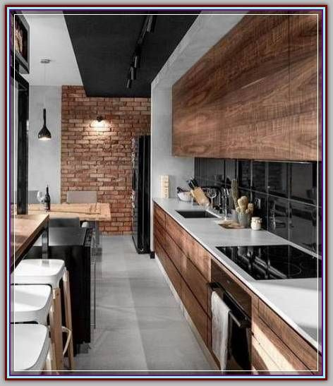 How To Brighten Up A Dark Wood Kitchen Decorate Your Kitchen With These Simple Tips Modern Interior Design In 2020 Modern Kitchen Design Kitchen Inspiration Design Dining Room Design