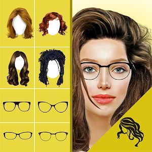 Best Hairstyle Apps For Android In 2020 Virtual Makeover Hair Changer Hair Color Changer