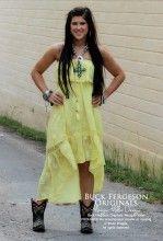 Super cute! Yellow Sun Dress