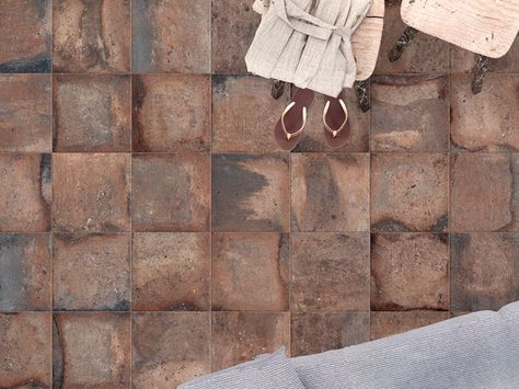Porcelain Stoneware Wall Floor Tiles With Terracotta Effect Context Brown Context Collection By Astor Ceramiche Tile Floor Flooring Tiles