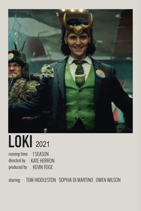 loki ४ (2021) - polaroid poster
