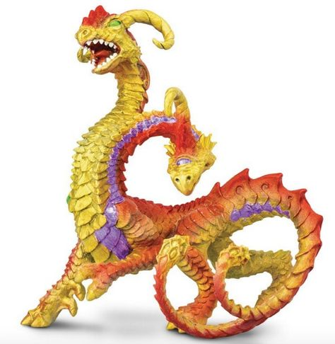 Mythical Realms Sea Dragon Safari Ltd New Educational Kids Toy Figure