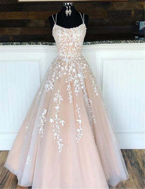 Pretty Prom Dresses, Lace Evening Dresses, Prom Party Dresses, Party Gowns, Elegant Dresses, Sexy Dresses, Dress Prom, Summer Dresses, Puffy Prom Dresses
