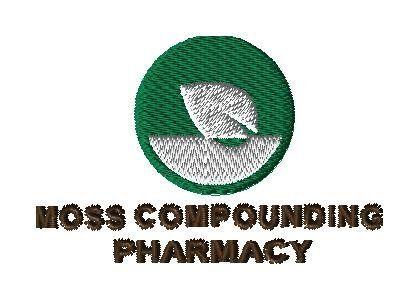 Moss Compounding - custom logo for KMC - custom embroidery design