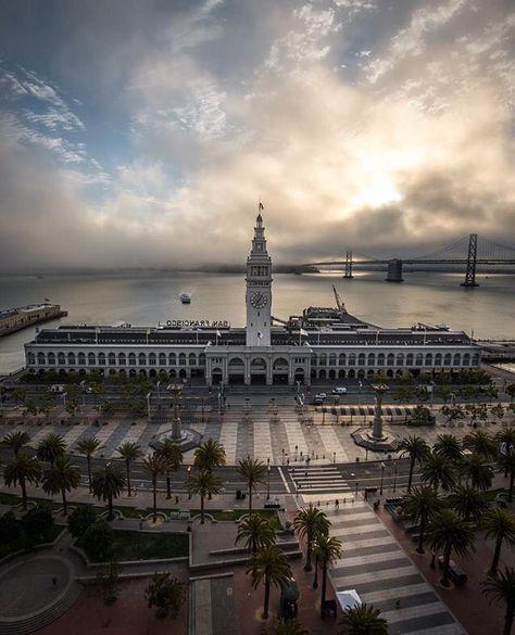 The Embarcadero San Francisco by @pegs4days #sanfrancisco #sf
